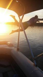 jump off boat
